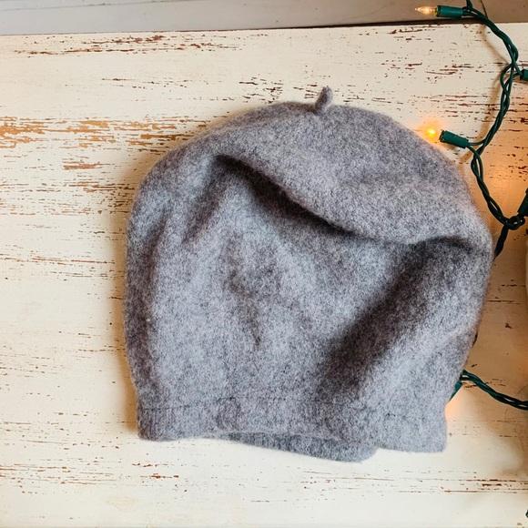 Free People Grey Winter Hat